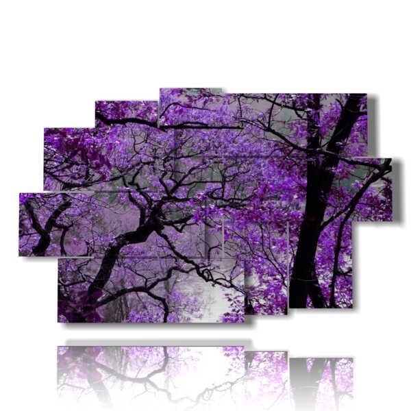 paintings cherry trees in bloom