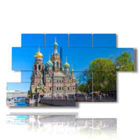 quadro con foto San Pietroburgo Russia
