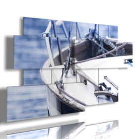 quadri di barca da viaggio