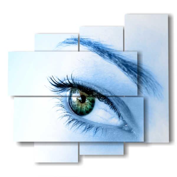 tableaux de femmes modernes de l'oeil séduisant