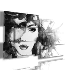 on canvas Women