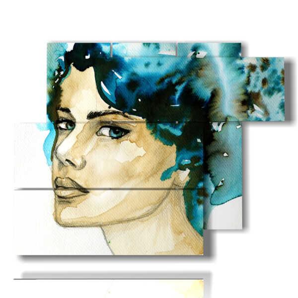 quadro sulle donne dallo sguardo profondo