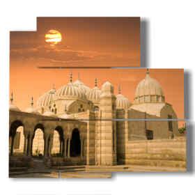 quadro rappresentante una foto di Egitto