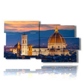 tableaux la cathédrale de Florence