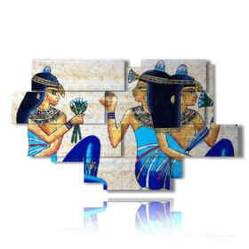 quadro con foto Cleopatra Egitto