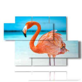 paintings of beach birds