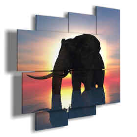 elephant paintings to abstract sunset