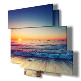 Printed picture - Singapore 01 - Multipanel and multilevel 3D. Large size