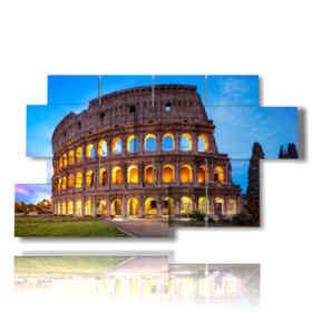 migliori quadri roma con Colosseo