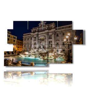 grabados cuadros Roma Fontana de Trevi