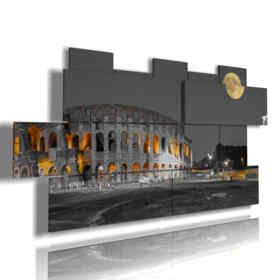 painting of Rome the Moon and You