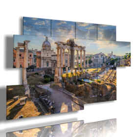 les reproductions de tableaux Forum Romain Rome