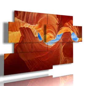 Bild der Landschaft Antelope Canyon in Arizona