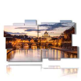 quadro con foto belle a Roma