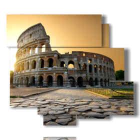 quadro con foto di Roma bellissime