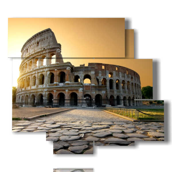 picture with photos of beautiful Rome