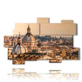 cuadro con fotos en Roma