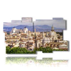 quadri famosi roma panoramica
