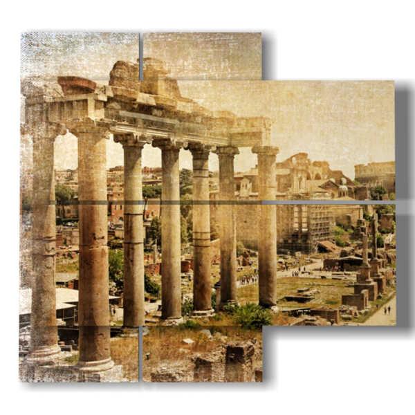 tableaux avec photos de la Rome antique