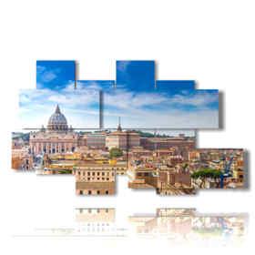quadro con stampa foto a Roma