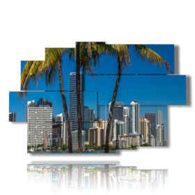 picture with photos of Miami