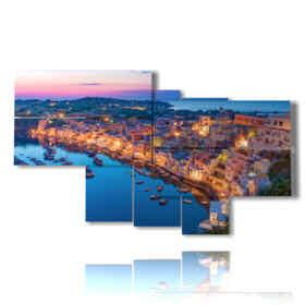 quadro con città italiane immagini a Napoli