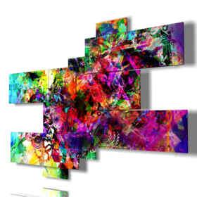 quadri moderni - Isola carabiaca 02 - centro