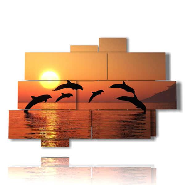 cuadros con peces tropicales