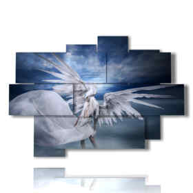 paintings with images fantasy angels and demons