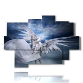 tableaux avec des tableaux fantastiques anges et démons