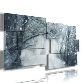 fantasy, paintings snow