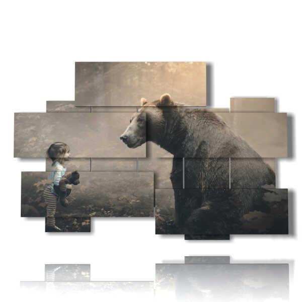 cuadros con imágenes de personajes de fantasía