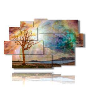 tableaux coucher de soleil avec des tableaux de fantaisie
