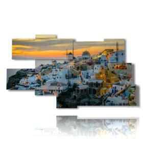 quadro con foto Atene città di giorno