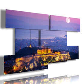 painting of Athens gorgeous photos