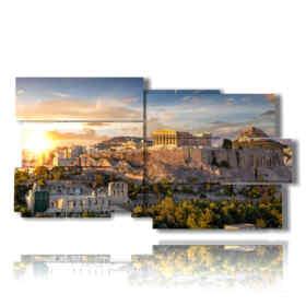 foto di Atene quadro della città