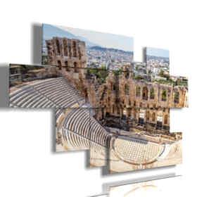 photos tableaux Acropole d'Athènes