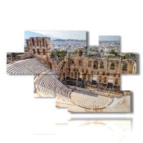 quadro foto Atene acropoli