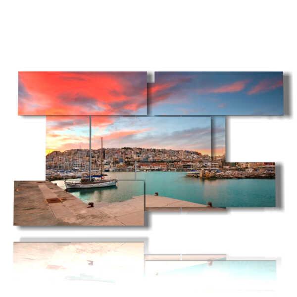 cuadro de Atenas mar foto