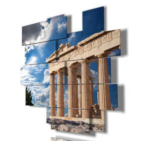 tableau moderne Rome - Forum Romain 01