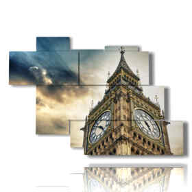 modern painting London - Big Ben