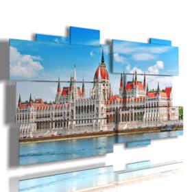 quadri importanti Budapest Il Parlamento