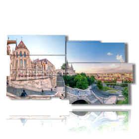 cuadros con hermosas fotos de Budapest