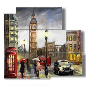 quadro di città a Londra