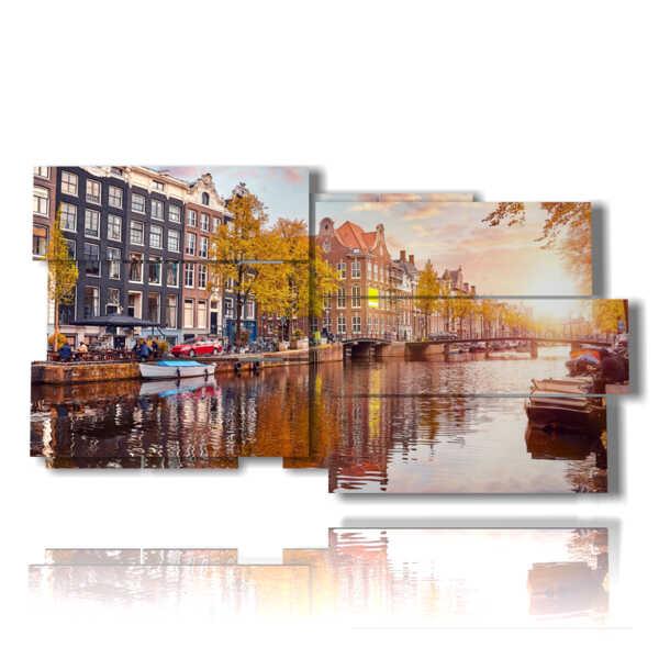 photo d'Amsterdam possibilités photo spectaculaire