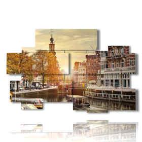 tableaux ville d'Amsterdam