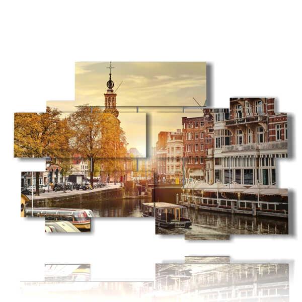quadro Amsterdam città