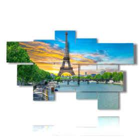 quadri torre Eiffel Francia