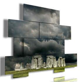 Stonehenge tableaux de paysage
