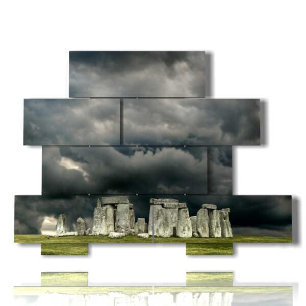 paesaggio da quadro Stonehenge